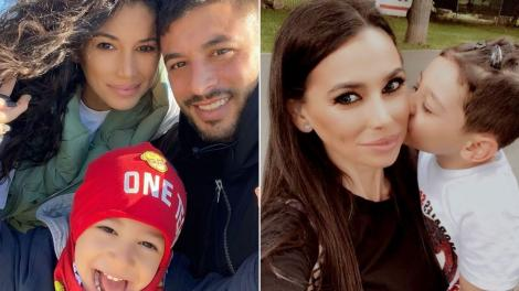 Roxana Vancea, în câteva fotografii împreună cu soțul ei, Dragoș Paiu, și cu fiul acestuia, Milan