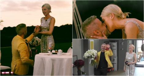Mireasa 2021, sezon 3. Bogdan a cerut-o în căsătorie pe Anamaria. Cum arată inelul de logodnă