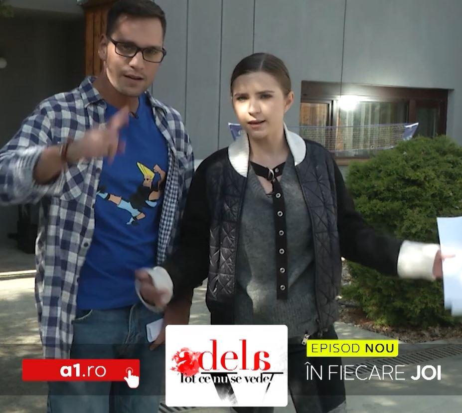 """Episodul 21 din seria """"Adela - Tot ce nu se vede"""". Oana Moșneagu și Toto Dumitrescu dau testul atenției la detalii din serial!"""