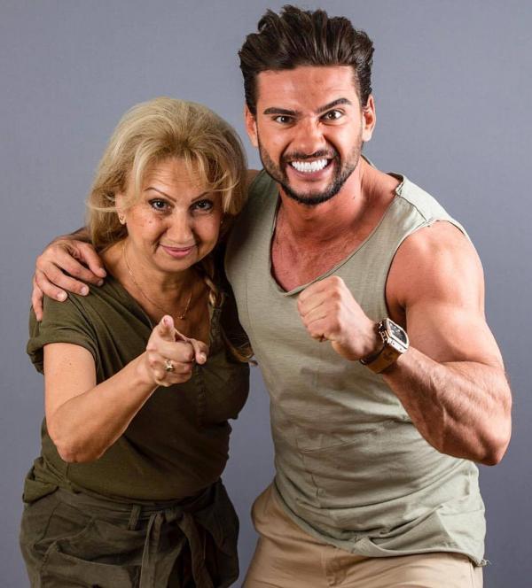 Dorian Popa și mamișor la Asia Express