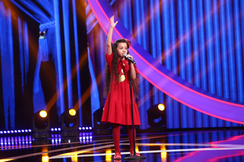 Next Star, 5 iunie 2021. Natalia Bolchiș i-a impresionat pe jurați cu vocea sa fantastică. Micuța a cântat alături de Loredana