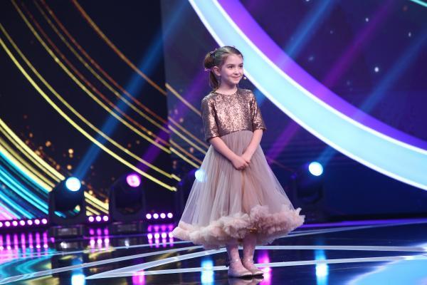 Sophia Pavel, moment de umor la Next Star