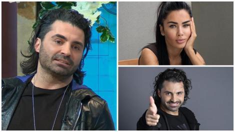 Colaj cu Pepe îmbrăcat în negru și Oana Zăvoranu, într-un maiou negru