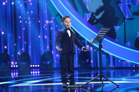 Next Star, 5 iunie 2021. Eric Dobriceanu, o voce uriașă într-un trup mic. A primit numele de Micuțul Pavarotti de la Loredana
