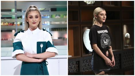 Colaj cu Elena Matei la Chefi la cuțite