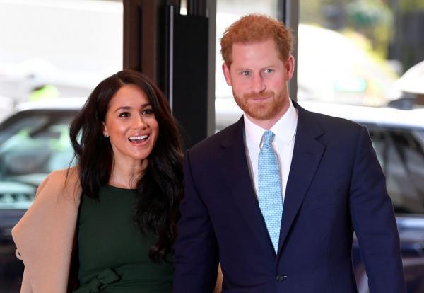 Harry și Meghan Markle, într-o poziție mai joasă pe site-ul oficial al Casei Regale
