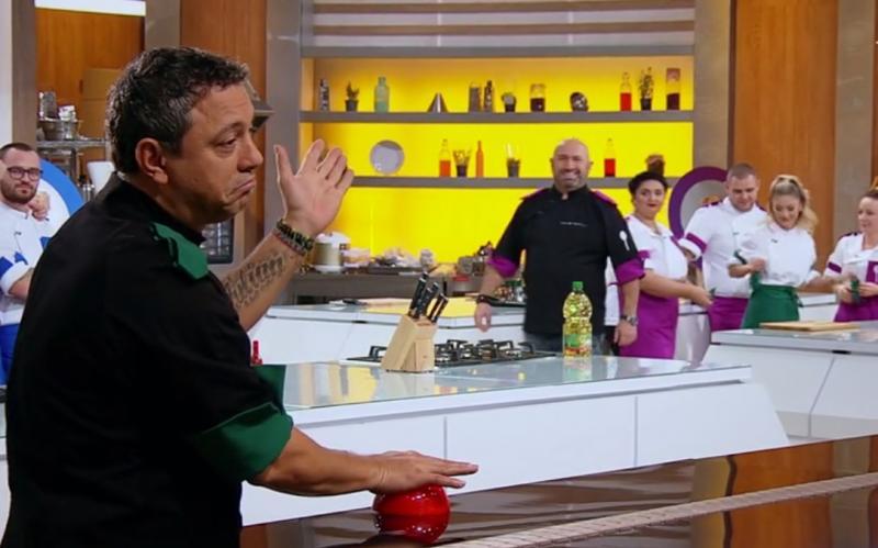"""Sorin Bontea în ediția 43 din sezonul 9 """"Chefi la cuțite"""""""