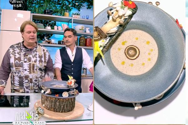 Vlăduț și Răzvan prezintă rețeta de supă cremă de ciuperci