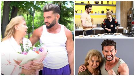 Colaj cu Dorian Popa și mamișor