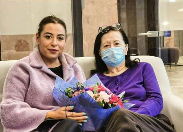 Oana Roman, alături de mama ei la centrul de recuperare