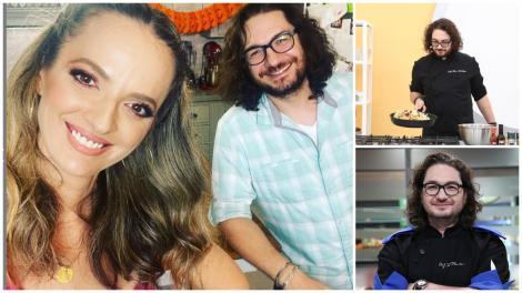 Colaj cu Florin Dumitrescu la Chefi la cuțite și cu soția lui, Cristina