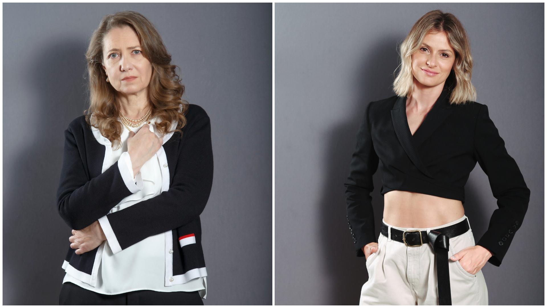 Ioana Abur şi Ioana Blaj complică acţiunea la finalul acestui sezon Adela