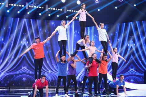 Next Star, 10 iulie 2021. Școala Gimnazială Recea, moment de acrobație, prin unitate. Ce le-a transmis Marian Drăgulescu
