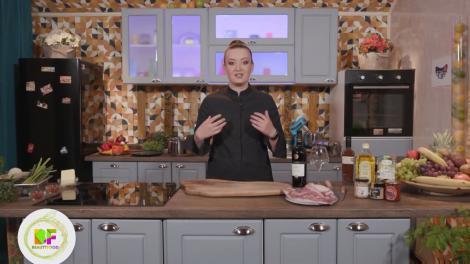 Roxana Blenche, plating de senzație pentru o tocăniță de porc cu ciuperci uscate, la BeautiFood, pe AntenaPlay