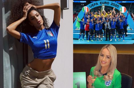 Cum arată partenerele jucătorilor de la Euro 2020 .Soțiile, iubitele și logodnicele fotbaliștilor au făcut spectacol