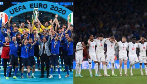 EURO 2020. Câți bani a câștigat Italia, noua campioană europeană. Ce sumă a obținut Anglia, după finala meciului