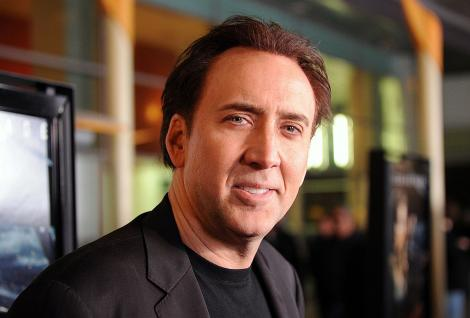 Nicolas Cage, în februarie 2011, Hollywood, California