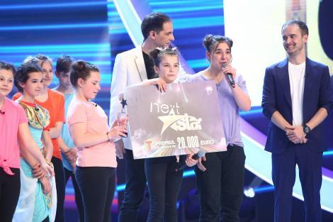 Finala Next Star 2021. Cine a câștigat sezonul 10. Școala Recea și elevii ei au convins publicul cu talentul lor