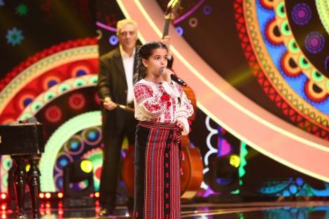 Next Star, 3 iulie 2021. Daria Mușat, cântec popular interpretat cu multă pasiune. Loredana s-a ridicat și a cântat cu ea