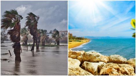 Avertizare de călătorie emisă de MAE! Ce zone din Spania sunt vizate de caniculă și furtuni în următoarea perioadă