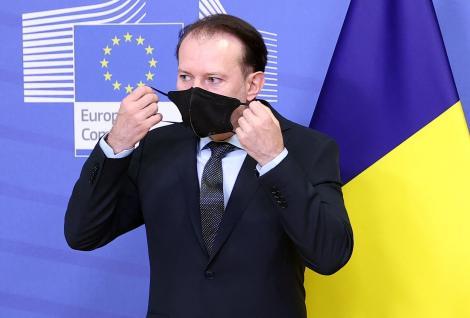 Premierul Florin Cîțu a anunțat noi relaxări de la 1 august. Ce se va întâmpla cu măștile purtate la interior