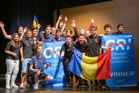 Victorie pentru echipa de Robotică a României. Este prima dată în ultimii 30 de ani când câștigă o echipă care nu este din SUA