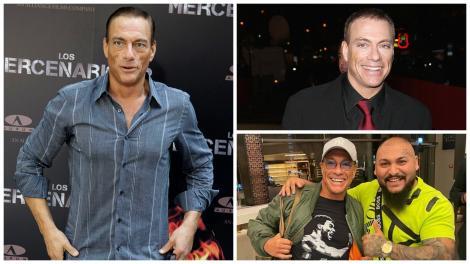 Colaj cu Jean Claude Van Damme și Dani Mocanu