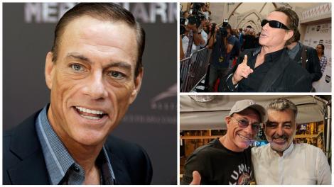 Ce a făcut, de fapt, Jean-Claude Van Damme în România. Dezvăluirile lui chef Joseph Hadad