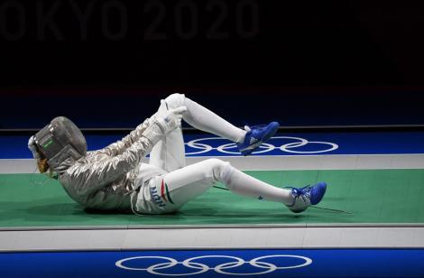 Maria Belen Perez Maurice, scrimera argentiniană cerută de soție de antrenorul ei la Jocurile Olimpice 2020.Care a fost reacția ei