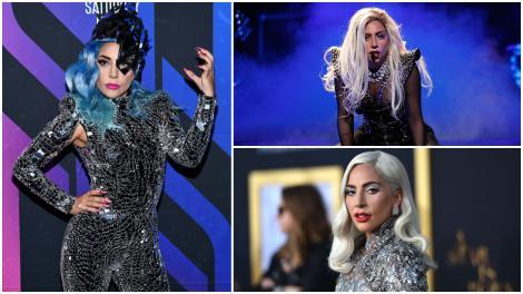 Lady Gaga, surprinsă într-o rochie mulată și pantofi foarte înalți. Puțini au recunoscut-o atunci când au văzut-o pe stradă