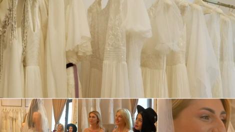 Mireasa 2021, sezon 3. Fetele au fost la proba pentru rochia de mireasă. Ce ținute au ales pentru Finală