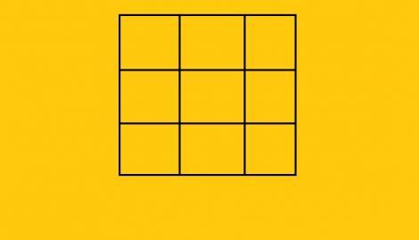 Câte pătrate sunt în această imagine, de fapt. Răspunsul corect te va surprinde