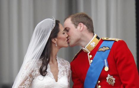 printul william si ducesa kate middleton la nunta lor