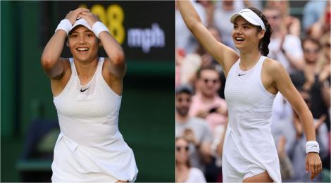 """Emma Răducanu, tânăra de 18 ani care a eliminat-o pe Sorana Cîrstea la Wimbledon, """"elev model"""" și potențial milionară"""