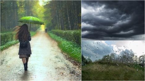 ANM a anunțat ploi severe și grindină urmate de un val puternic de caniculă. Care sunt zonele afectate de vremea extremă