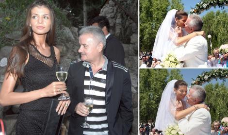 Irinel Columbeanu și Monica Gabor în trei ipostaze diferite