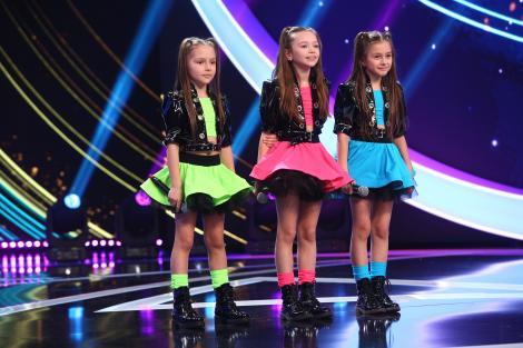 Next Star, 10 iulie 2021. Lucky Girls, trupa de fete care a făcut show total pe scenă. Ce coregrafie perfectă au avut