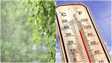Alertă meteo! Meteorologii au emis noi avertizări cod galben de caniculă și vijelii. Ce zone sunt vizate