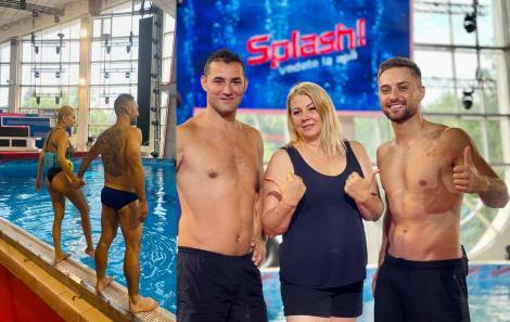 Claudia Tiu, Cătălin Cozma și Bogdan Ioniță sunt cei trei antrenori de la Splash! Vedete la apă