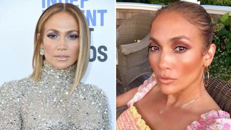Jennifer Lopez, schimbare de look. Cum s-a pozat vedeta internațională pe rețelele de socializare