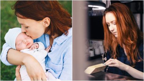 Femeia care face bijuterii din lapte matern. Cum arată accesoriile neobișnuite create de Alison Hawthorn