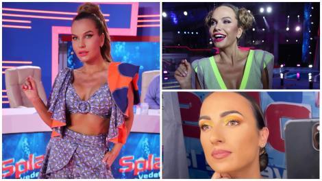 Anna Lesko și Anca Bucur (Miss Fitness) își etalează trupurile perfecte la Splash! Vedete la apă. Cum au fost surprinse cele două
