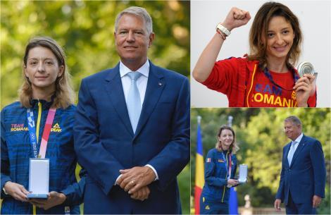 Klaus Iohannis i-a decorat pe sportivii medaliați la Tokyo. Ce Ordin a primit Ana-Maria Popescu, medaliată cu argint la spadă