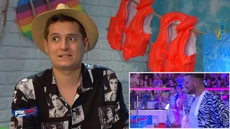 """Pleosc! Vedete la apă 2021, episodul 2. George Tănase pariază pe concurentul care va face """"Pleosc!"""". Despre cine e vorba"""