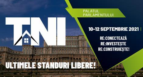 (P) Primul târg imobiliar organizat de la începutul pandemiei: Târgul Național Imobiliar, 10-12 septembrie 2021