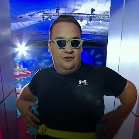 Splash! Vedete la apă, 28 august 2021. Răzvan Babană, săritură îndrăzneață de la 5 metri. Momentul unic pregătit de el