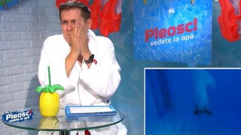 """Pleosc! Vedete la apă 2021, episodul 3. George Tănase a tresărit la o săritură: """"Mi-a stat inima"""""""