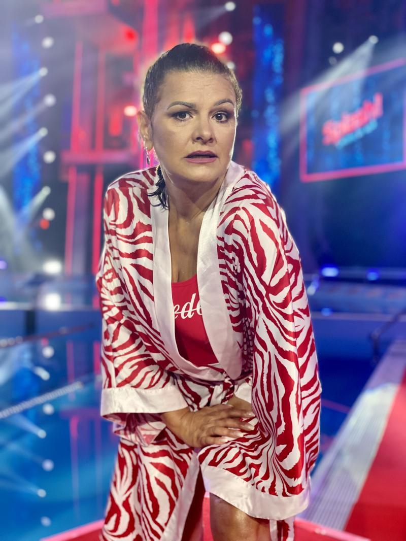 """Maria Buză la """"Splash! Vedete la apă"""""""