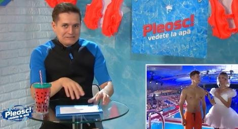 Pleosc! Vedete la apă 2021, episodul 7. George Tănase, roast de senzație pe seama concurenților