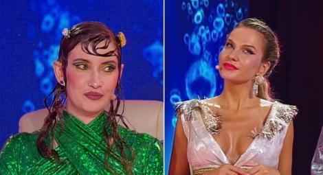 """Finala """"Splash! Vedete la apă"""" 2021. Iulia Albu a fost o """"sirenă"""" superbă! Ce rochie îndrăzneață a ales Anna Lesko"""